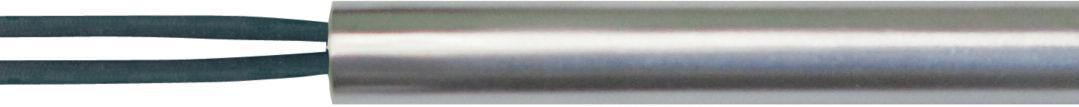 Teflon leads connected straight ot cartridge heater